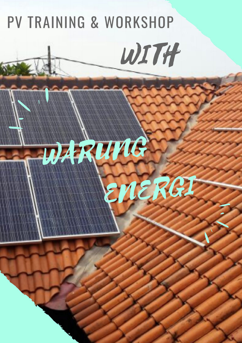 PV TRAINING & WORKSHOP by WARUNG ENERGI